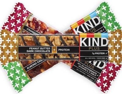 KIND Plus Nutrition Bars