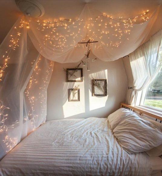 Dorm room interior