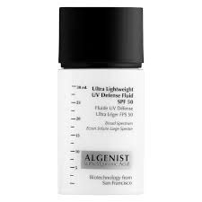 Algentist Ultra LIghtweight UV Defense Fluid SPF 50
