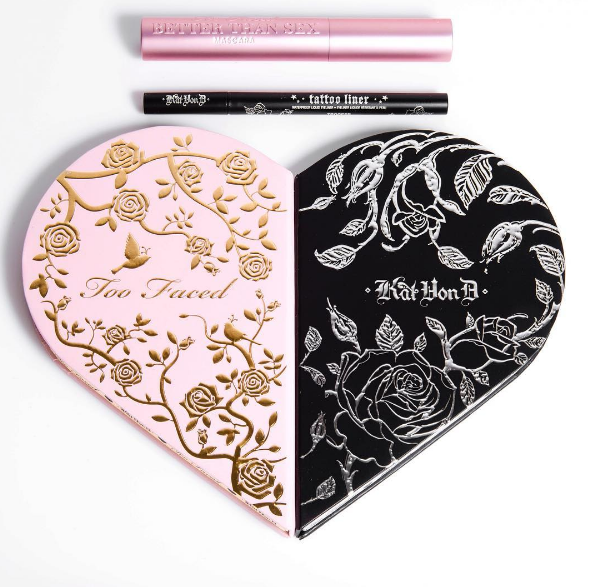Kat Von D and Too Faced