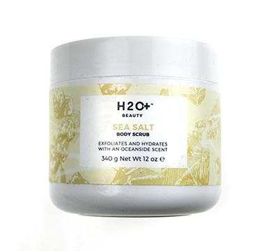 H2O+ plus sea salt body scrub
