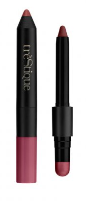 trèStique Matte Color & Shiny Balm Lip Crayon
