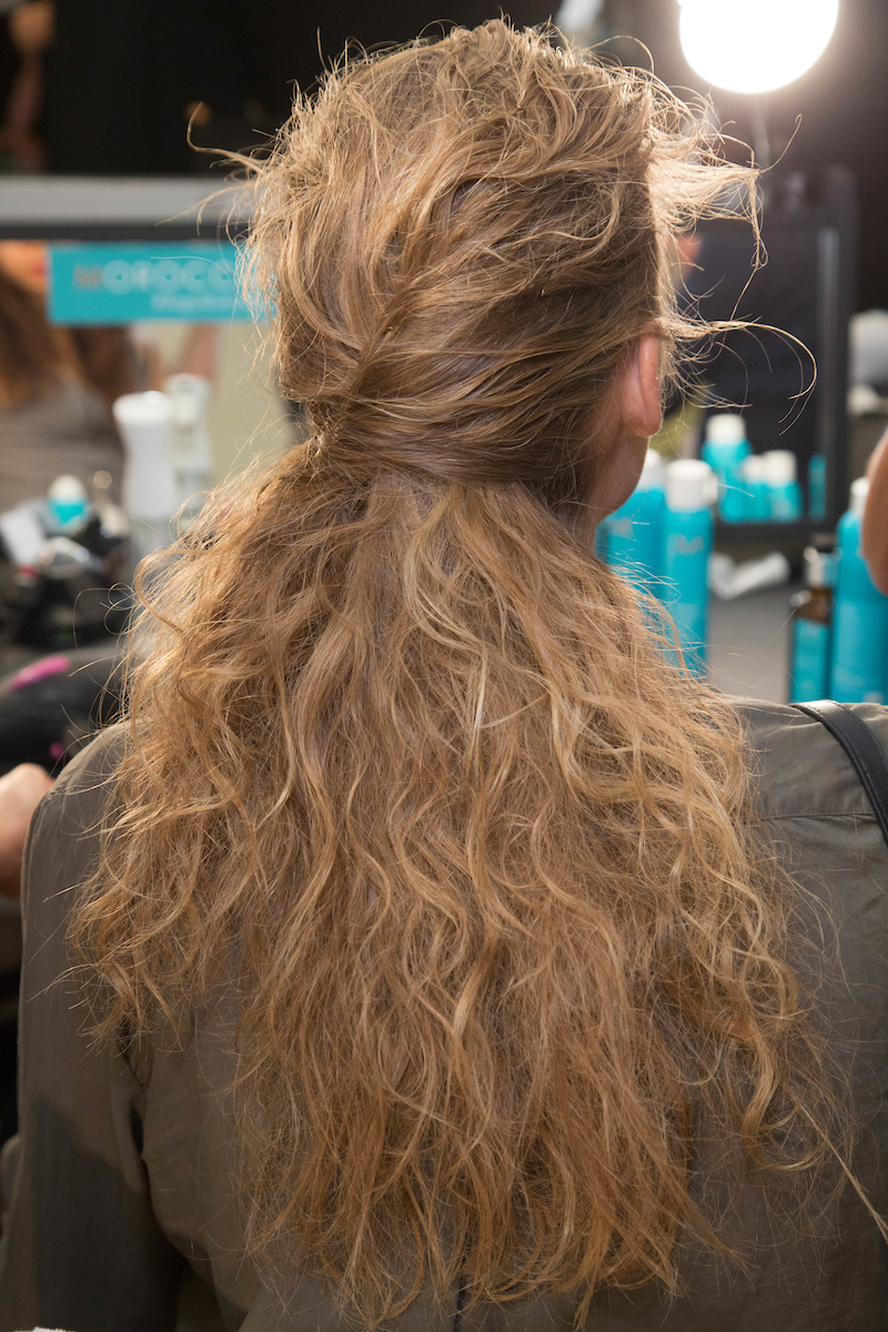 hair moroccan oil zac posen
