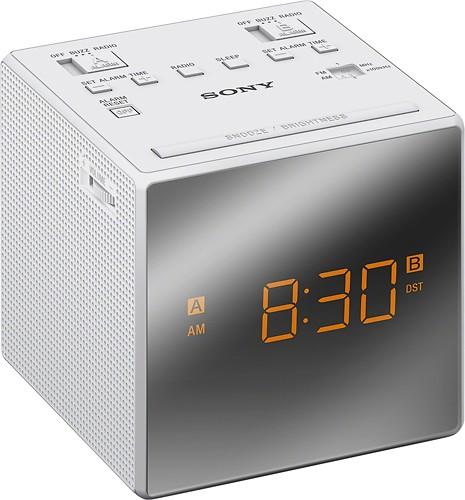 Sony dual alarm clock