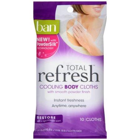 ban refresh wipe