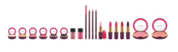 MAC nutcracker sweet collection