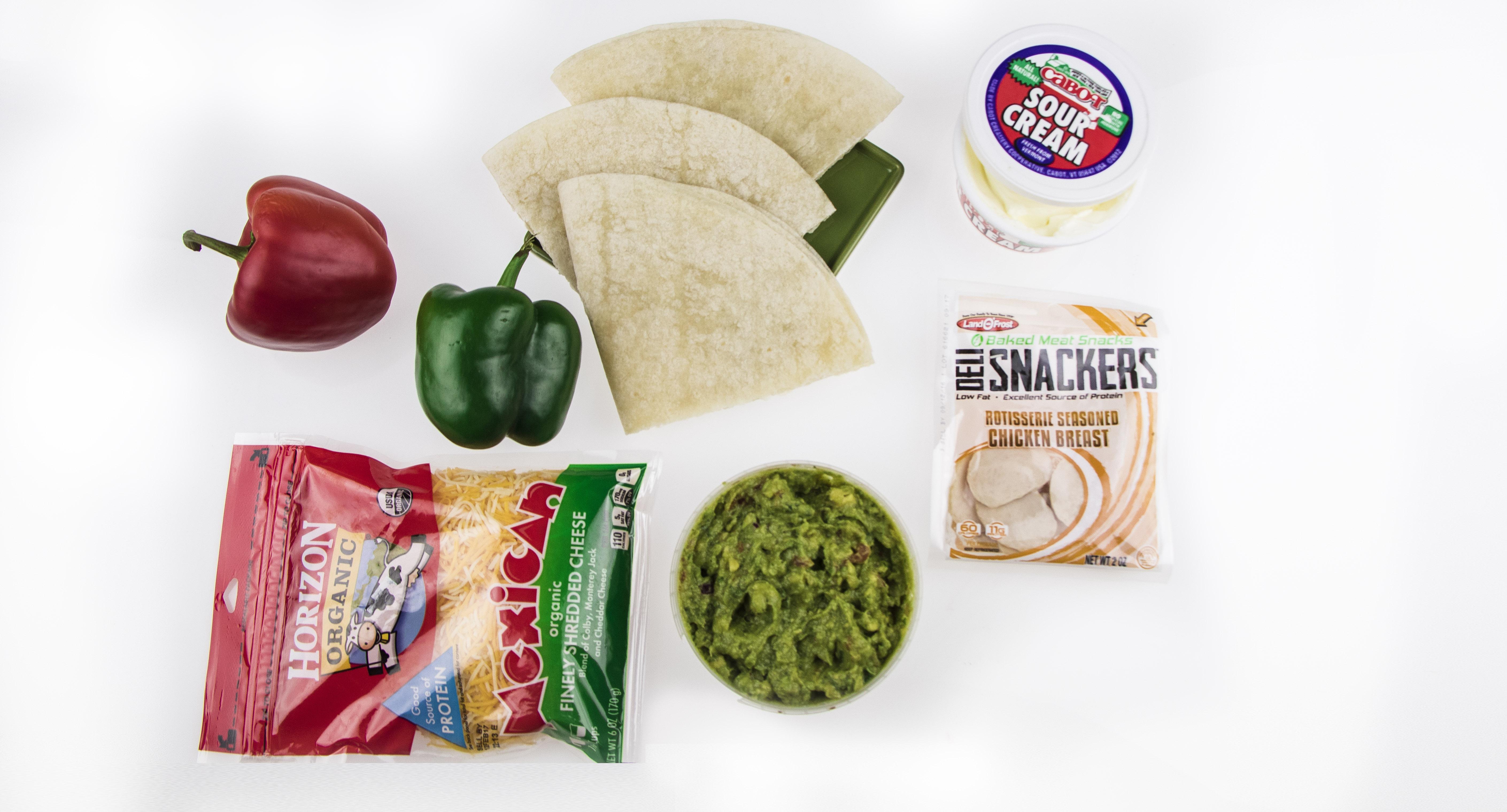 quesadilla recipe ingredients