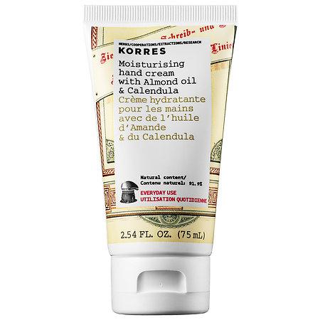 Korres Moisturising Hand Cream with Almond Oil & Calendula