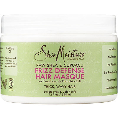 SheaMoisture Raw Shea & Cupuacu Frizz Defense Hair Masque