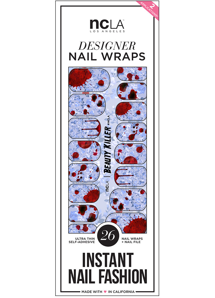 NCLA beauty killer nail wrap