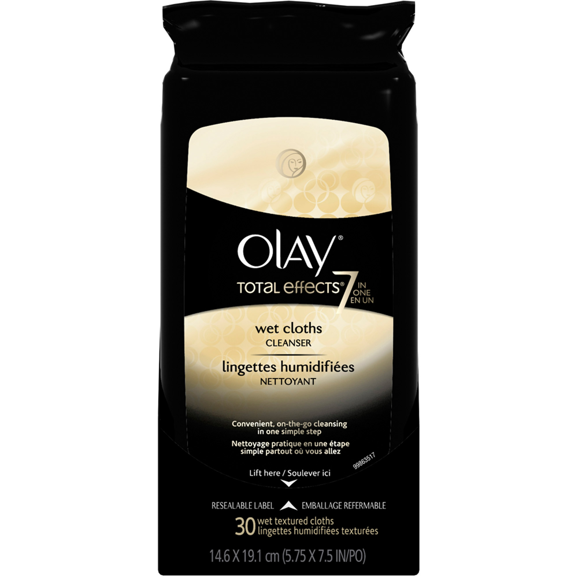 olay total effects facial wipes