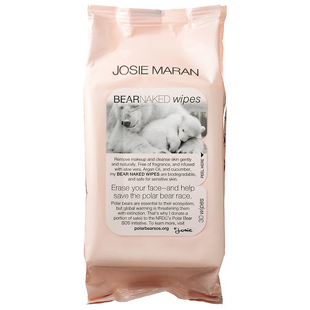 josie maran bare naked wipes