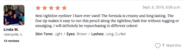 Marc Jacobs Beauty Fineliner Ultra-Skinny Gel Eye Crayon Eyeliner review