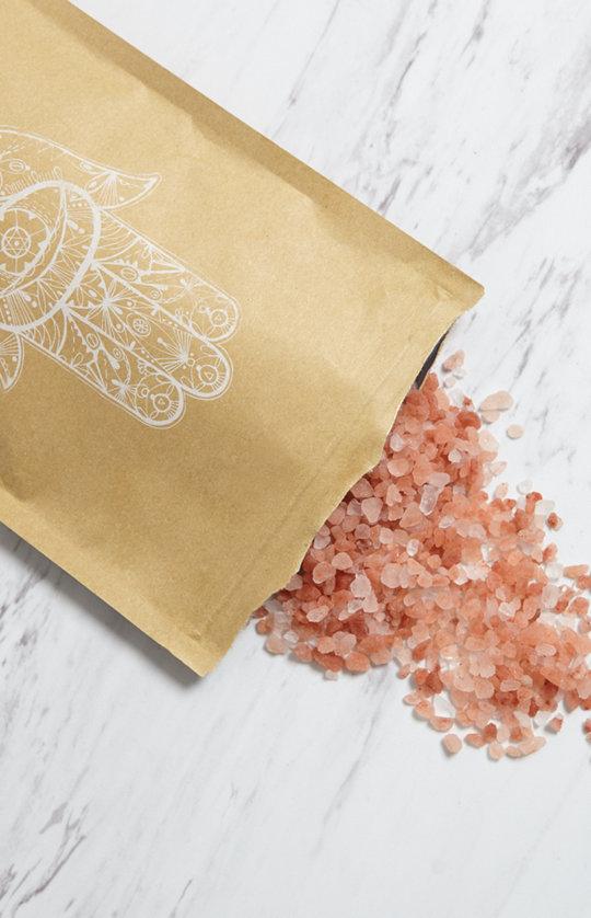 cedar + stone lavender himalayan salt bath