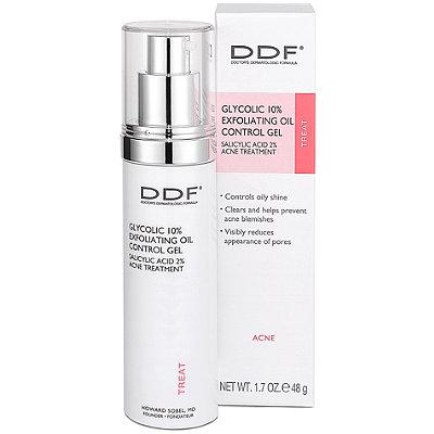 ddf glycolic 10% exfoliating oil control gel
