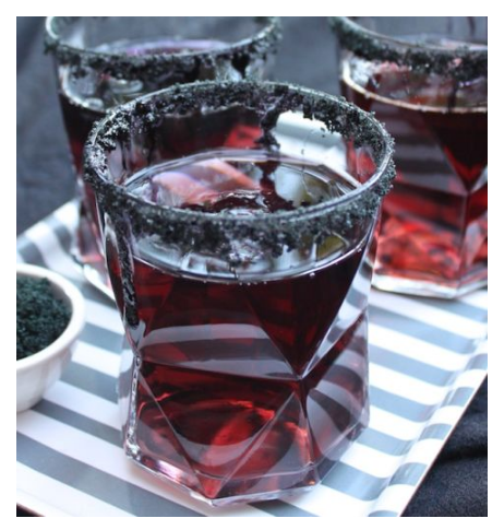black licorice shots
