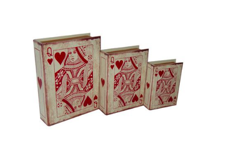 Cheung's 3 Piece Vinyl Queen of Hearts Book Box Set