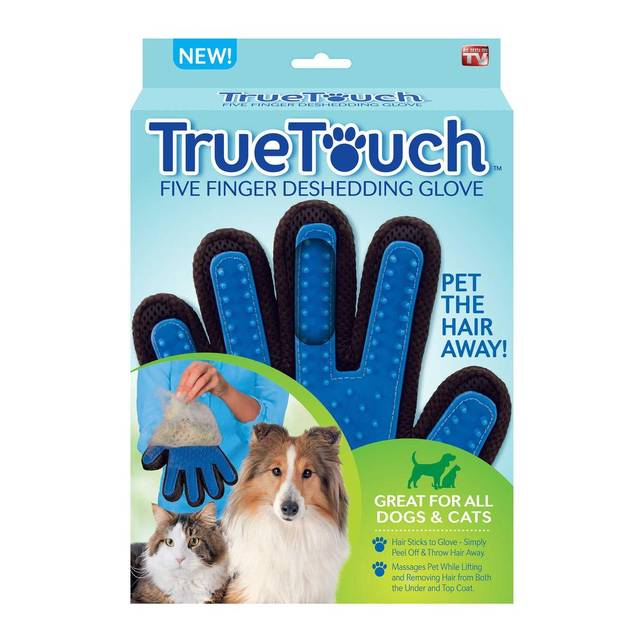 The True Touch Deshedding Glove