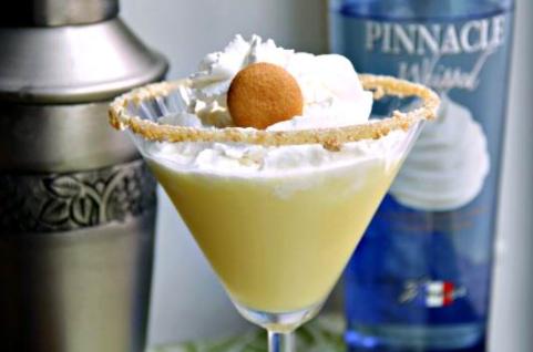 banana pudding martini