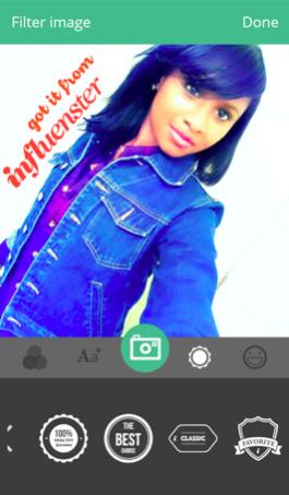 influenster app photo tool