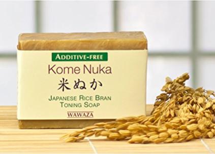 rice bran toning soap