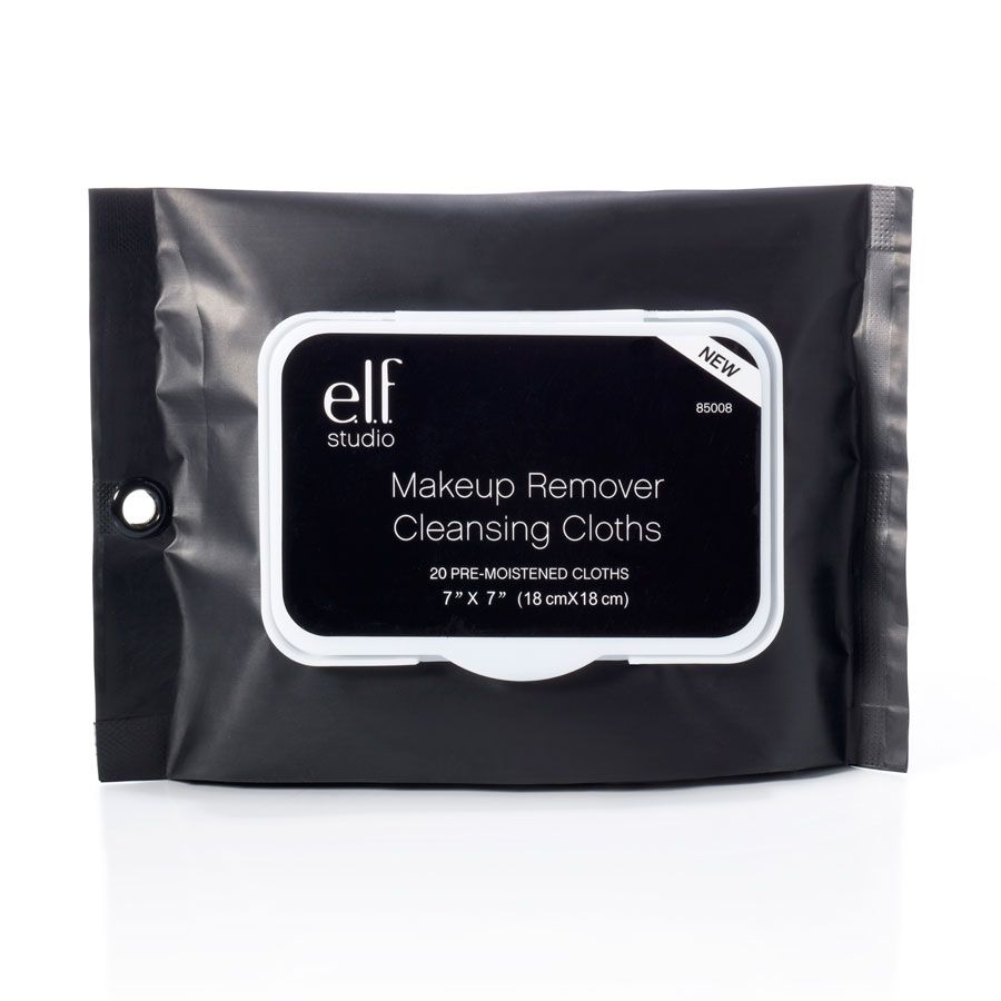 elf cosmetics makeup remover cleansing cloths