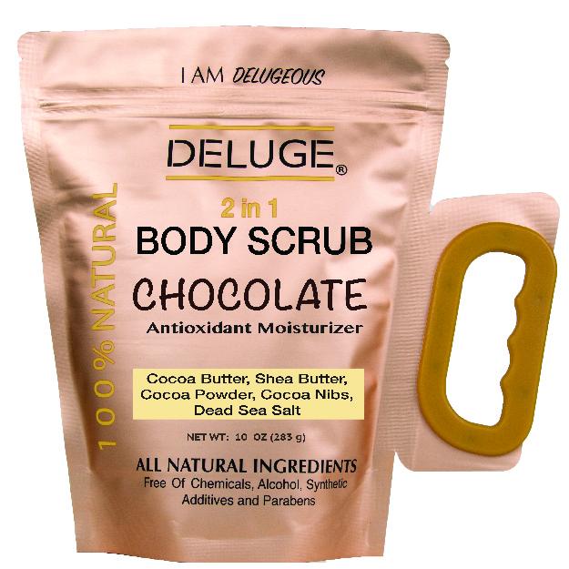 DELUGE Chocolate Body Scrub