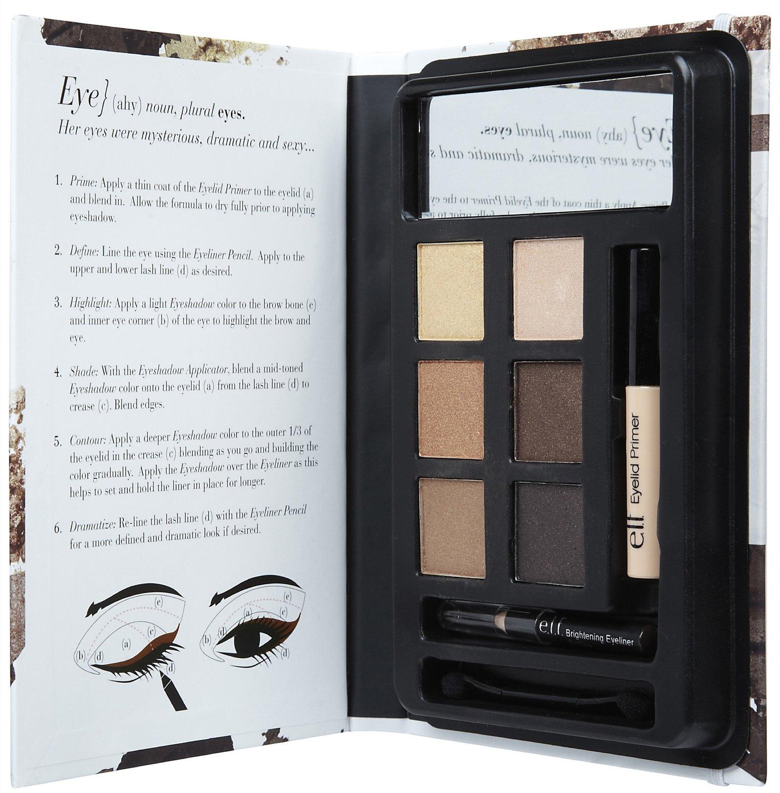 elf beauty eye book in bronzed