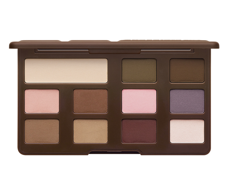 too faced matte chocolate bar eyeshadow