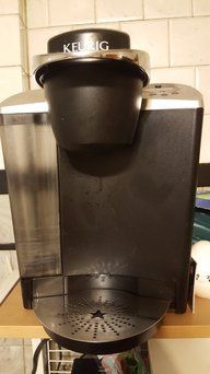 Photo of Keurig - 2.0 K550 4-cup Coffeemaker - Black/dark Gray uploaded by Tahalia M.