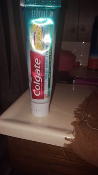Colgate Total Fresh Mint Strip Gel Toothpaste uploaded by Trish S.