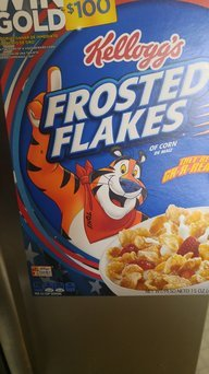 Kellogg's Frosted Flakes Cereal uploaded by Karen E.