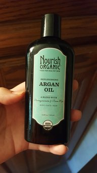 Nourish Organic Replenishing Argan Oil for Face/Hair/Body - 3.4 oz uploaded by Samantha Y.