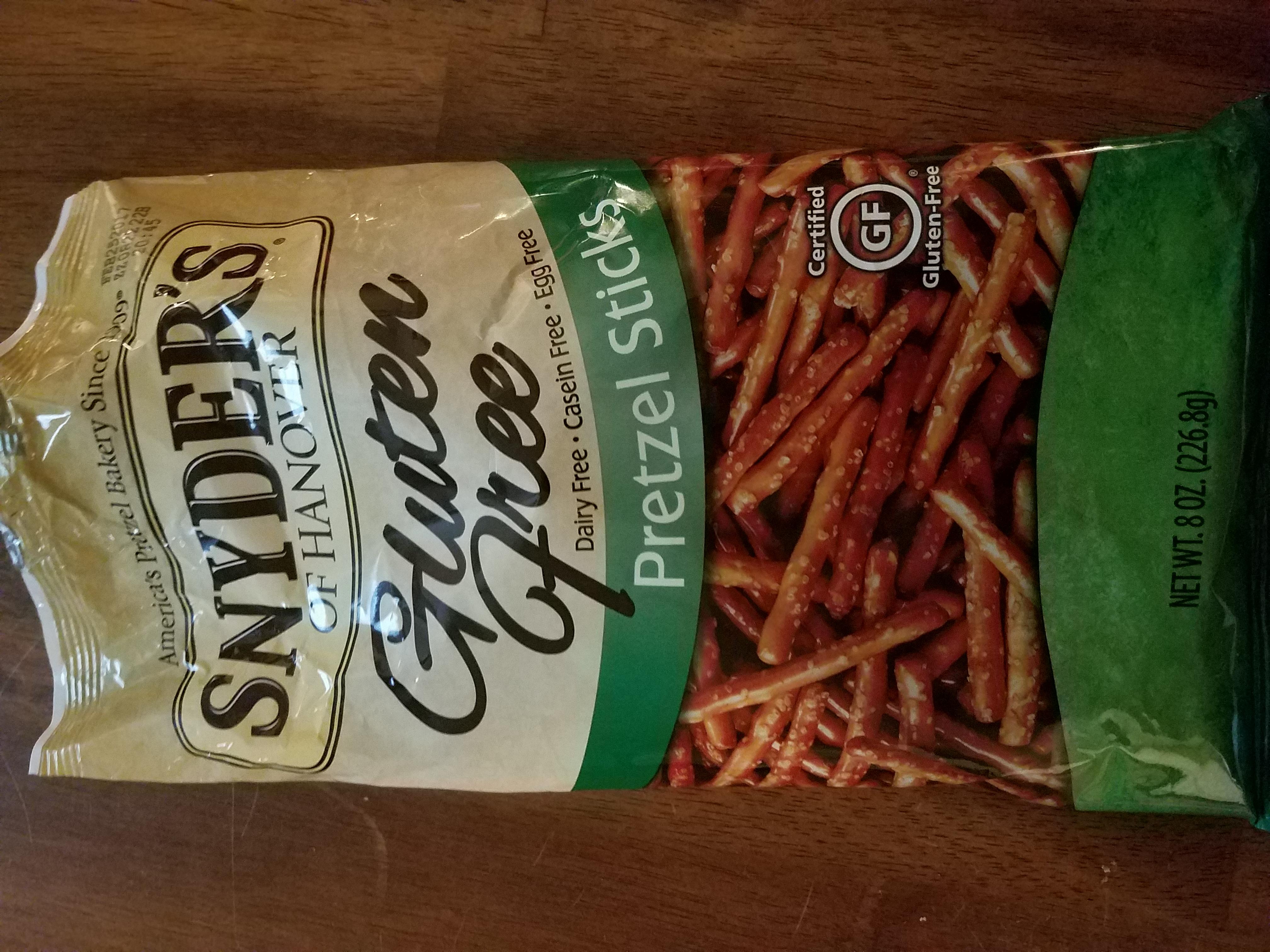 Photo of Snyder's Of Hanover Gluten-Free Sticks uploaded by Bridgitte M.