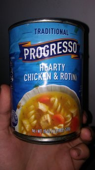 Progresso® Traditional Chicken Noodle/Hearty Chicken & Rotini Soup Variety Pack 8-19 oz. Cans uploaded by Jes T.