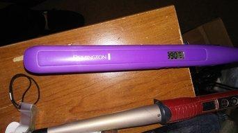 HerStyler Mini CS 7 Hair Straightener, Purple uploaded by Sam R.