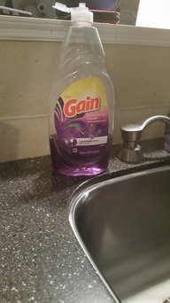 Gain Ultra Dishwashing Liquid Lavender Scent uploaded by Candace A.