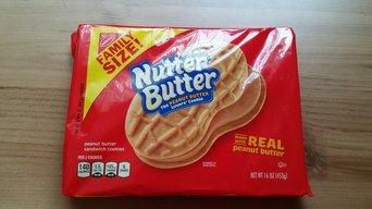 Nabisco Nutter Butter Peanut Butter Sandwich Cookies uploaded by Winnie L.