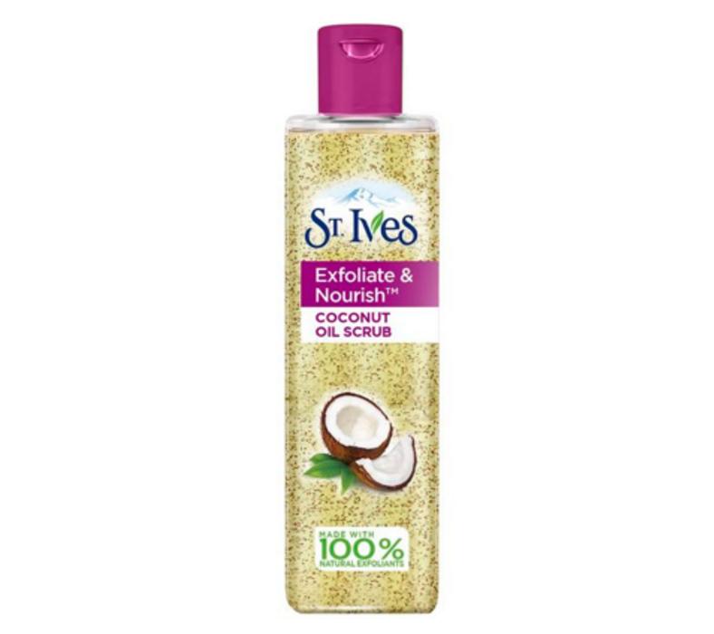 st ives oil scrub coconut