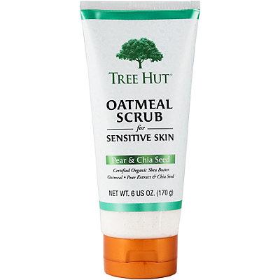 Tree Hut Pear & Chia Seed Gentle Oatmeal Scrub