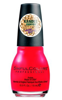 Kandee Johnson for SinfulColors