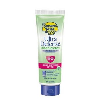 Banana Boat Ultra Defense Broad Spectrum Sunscreen