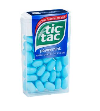 Tic Tac Powermint