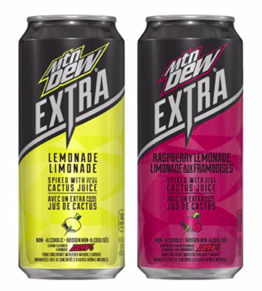 Mountain dew flavors lemonade