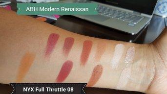 NYX Cosmetics Full Throttle Shadow Palette uploaded by Ximena E.