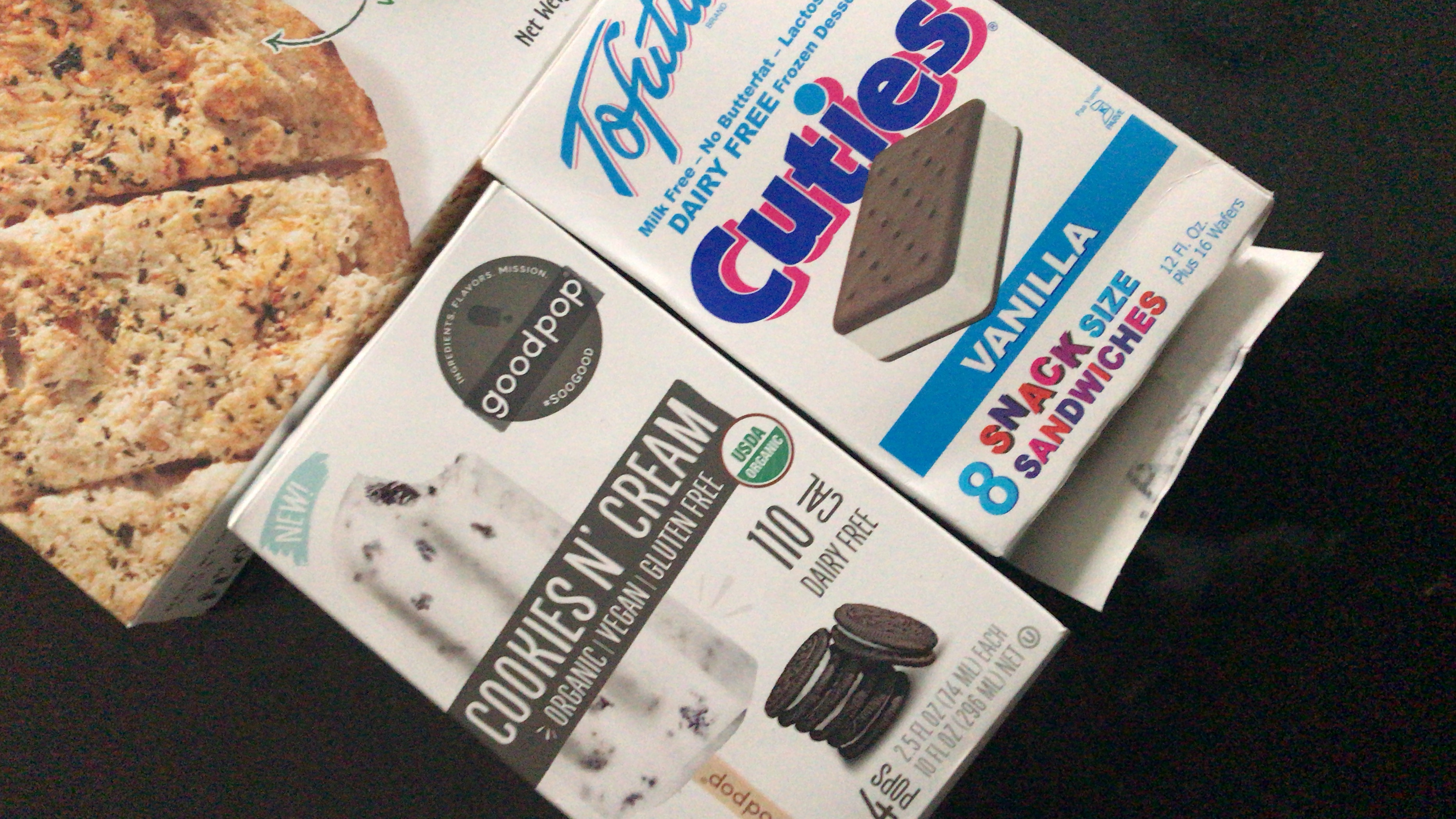 Tofutti Frozen Dessert Dairy Free Vanilla Snack Size Sanwiches - 8 CT uploaded by Isadora N.