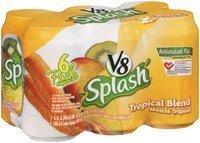 V8 Splash® Tropical Blend Juice Drink 6-11.5 fl. oz. Cans uploaded by GLORIA B.