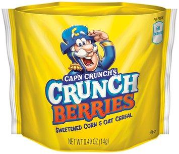 QUAKER CAP'N CRUNCH Go Snacks Crunch Berries 2.4 Oz Box uploaded by Asil A.
