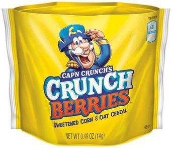QUAKER CAP'N CRUNCH Go Snacks Crunch Berries 2.4 Oz Box uploaded by Asil A.