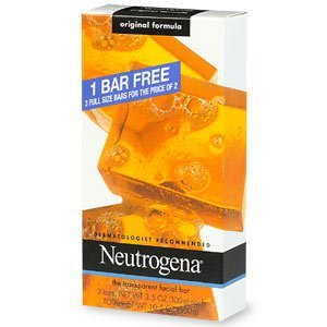 Neutrogena Facial Cleansing Bar for Acne-Prone Skin uploaded by Antionette B.